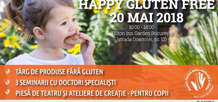 Happy Gluten Free 2018, primul târg al produselor fără gluten