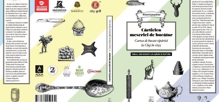 Traducere-eveniment! Carte de rețete din Ardeal, tradusă în premieră după 324 de ani!