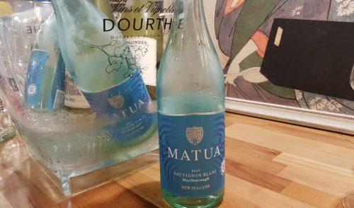Matua Sauvignon Blanc (90 puncte Wine Spectator) – o primă descoperire de vară, pentru seafood si sushi