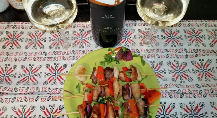 Beautiful Wines of Romania. Kerner Selection, Villa Vinea (2018)