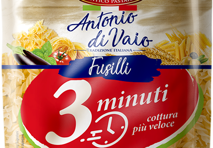 Paste Antonio di Vaio – gata în trei minute: dacă vrei să gătești rapid, dar să mănânci în tihnă