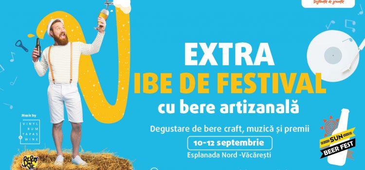 Sun Beer Fest – festival de bere artizanală, cu concerte și surprize, la Sun Plaza, 10-12 septembrie