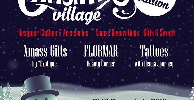 Christmas Village, super târg de fashion și accesorii, pe 12 si 13 decembrie, la Vintage