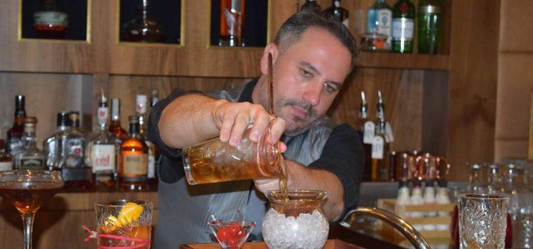 Tasting new Bourbon beautiful cocktails @ Bourbon Bar, JW Steakhouse
