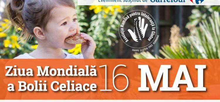 Ziua comunității gluten free (16 mai) și primul târg dedicat produselor fără gluten (20 mai)