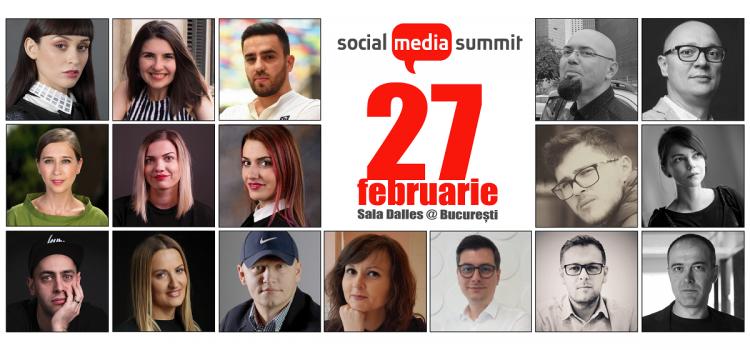 Social Media Summit – despre social media bine făcut, pe 27 februarie
