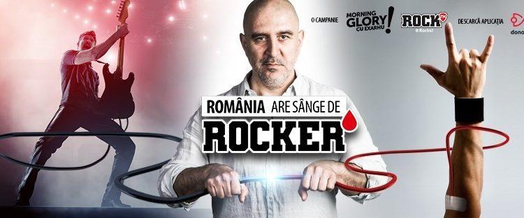 """Hard Rock Cafe se alătură campaniei """"România are sânge de rocker"""" și răsplătește donatorii de sânge"""